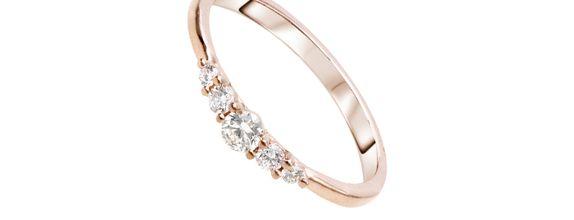 SIORAI Lilian Ring 0218 228 Cincin Berlian Sz 4 - 15 ( Pre Order )
