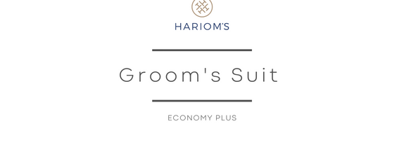 Hariom's Tailor - Groom's Outfit (Economy Plus Package)
