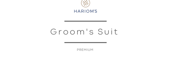 Hariom's Tailor - Groom's Outfit (Premium Package)