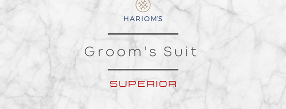 Hariom's Tailor - Groom's Outfit (Superior Package)