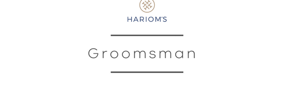 Hariom's Tailor - Groomsman Package (Per Person)