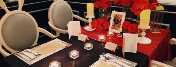Couple Table Setting