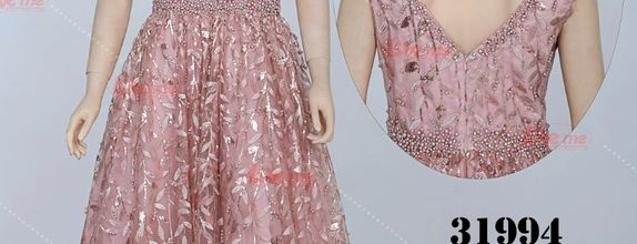 Gaun pesta pink 31994