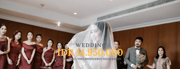 WEDDING PACKAGE FREE PREWEDDING/ENGAGEMENT