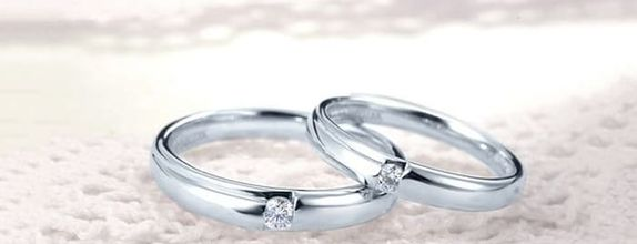 TIARIA Morning Dew Diamond Wedding Ring Cincin Nikah Berlian