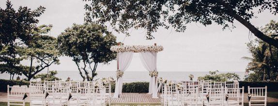 Padma Resort Legian - Opulent Wedding Ceremony & Indoor Reception Package