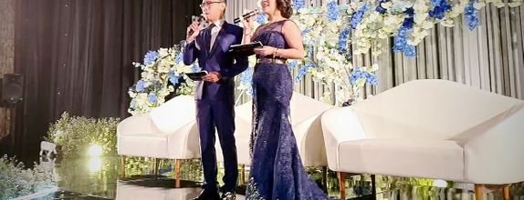 MC Ike Yang Wei Wei 杨微微 for Evening Weekend Wedding Reception