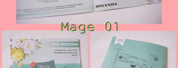 Undangan Blanko - Album Mage (01-06)