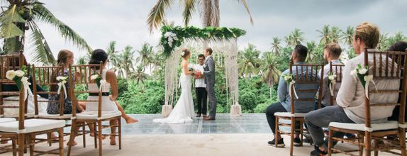 Villa Santai Ubud Signature - Traditional Balinese Wedding