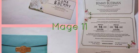 Undangan Blanko - Album Mage (11-14)