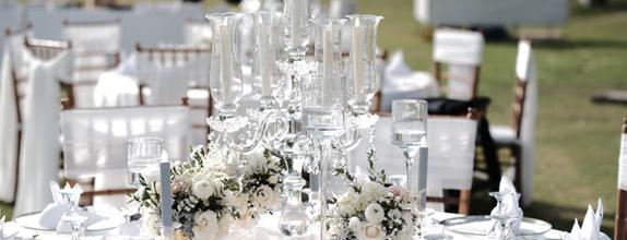 Dinner Reception Decoration (Round Table) - 300 pax