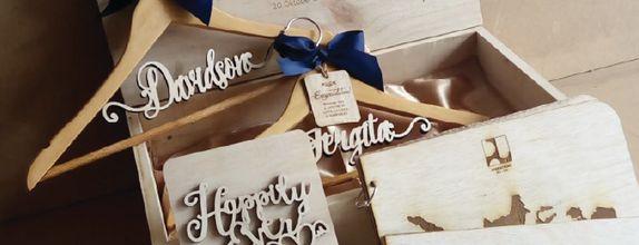 Aster - Bride & Groom Package by WoodLove