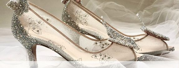 AVE - SILVER - 7cm - Wedding Shoes - Bride Shoes - Party Shoes