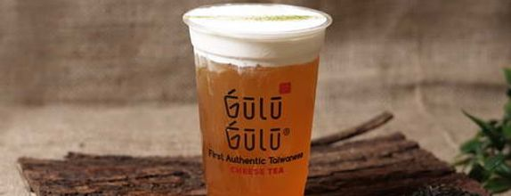 Gulu Gulu - Cheese Peach Tea