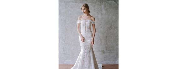 Bianca Dress Mermaid Wedding Gown