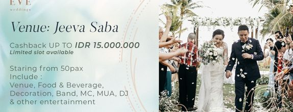 Jeeva Saba Customize Wedding Package
