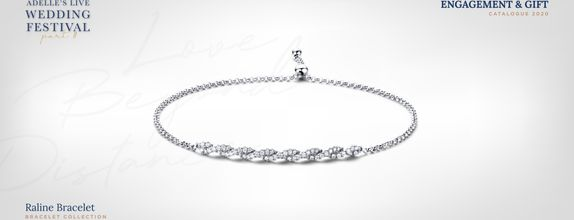 Adelle Jewellery Raline Diamond Bracelet - Gelang Berlian