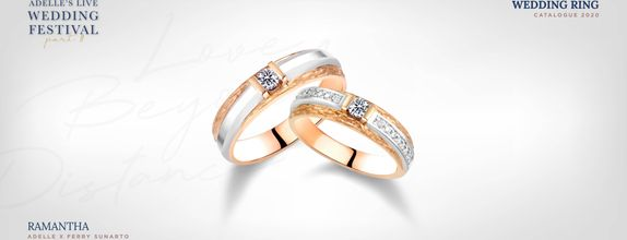 Adelle Jewellery x Ferry Sunarto Ramantha Wedding Ring - Cincin Nikah