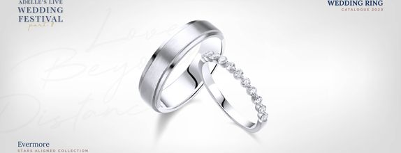 Adelle Jewellery Evermore Wedding Ring - Cincin Pernikahan