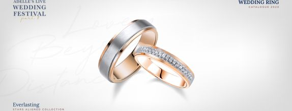 Adelle Jewellery Everlasting Wedding Ring - Cincin Pernikahan