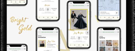 Undangan web online / invitation website