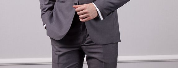 Grey Business Suit | Jas Bisnis Abu-abu