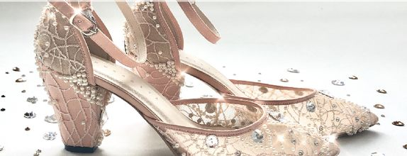 COLETTE - NUDE - 7cm - Wedding Shoes - Bride Shoes - Party Shoes