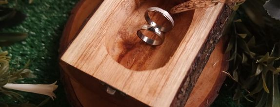 Natural Wood Ring Box