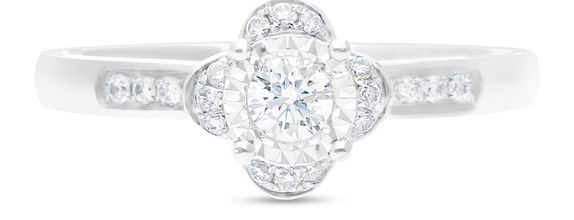 Diamond Ladies Ring R12363-45