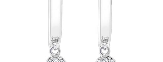 Diamond Earrings E16056-27