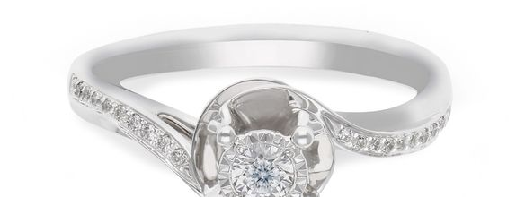 Diamond Ladies Ring R13325C-30
