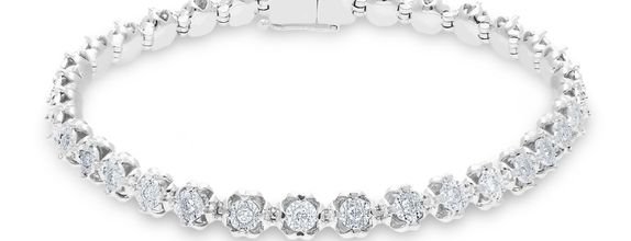 Diamond Bangle B17135