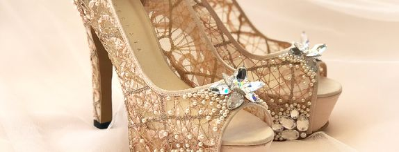 DHYNE - NUDE - 5cm - Wedding Shoes - Bride Shoes - Party Shoes