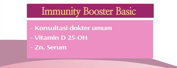 Check Up Women's Immunity Package - Immunity Booster Basic