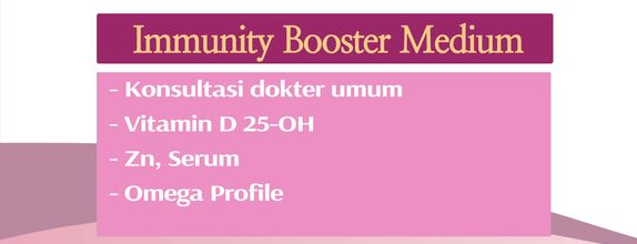 Check Up Women's Immunity Package - Immunity Booster Medium