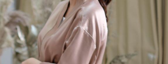 Iris Robe - Basic for Bridesmaid Robe
