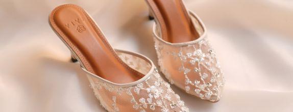 Wedding Shoes Custom Basic - Aubrieta (heels 7 cm )