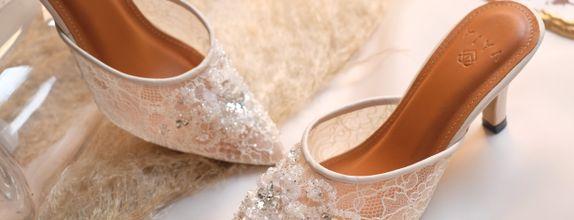 Wedding Shoes Custom Basic - Eleanor (heels 7 - 9 cm)