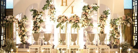 Intimate Wedding Decoration