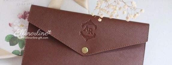 Envelope Leather Pouch (Regular) - 01