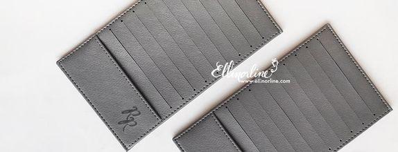 Leather Card Case (10 Slot tidak Bolak-Balik)