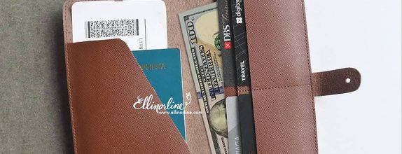 Travel Wallet with Flap