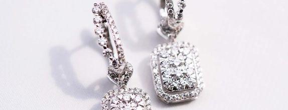 TWO WAY EMERALD DIAMOND EARRINGS / PENDANT