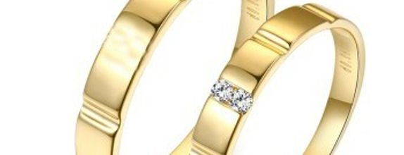 TIARIA Enchanting Memories Diamond Wedding Ring Cincin Nikah Berlian