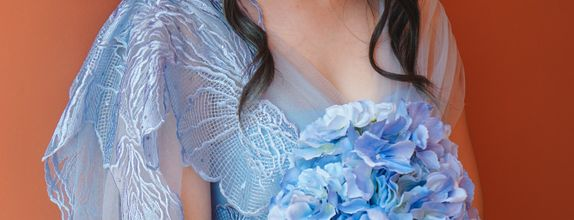 Rental Gown Marie Blue