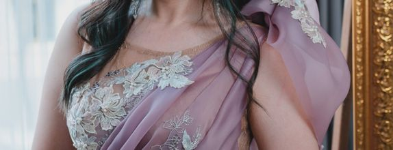 Rental Pre-Wedding Gown Mauve in Juliette