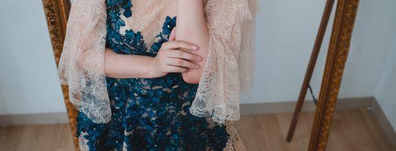 Rental Gown Blue Fantasy