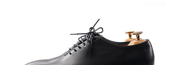 Sepatu Pengantin Pria - Evan Classic Black