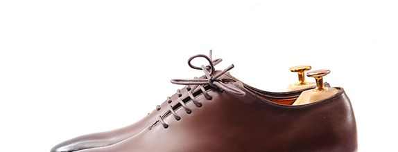 Sepatu Pengantin Pria - Evan Classic Brown