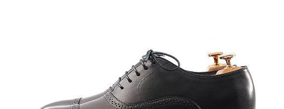 Sepatu Pengantin Pria - Ezra Classic Black